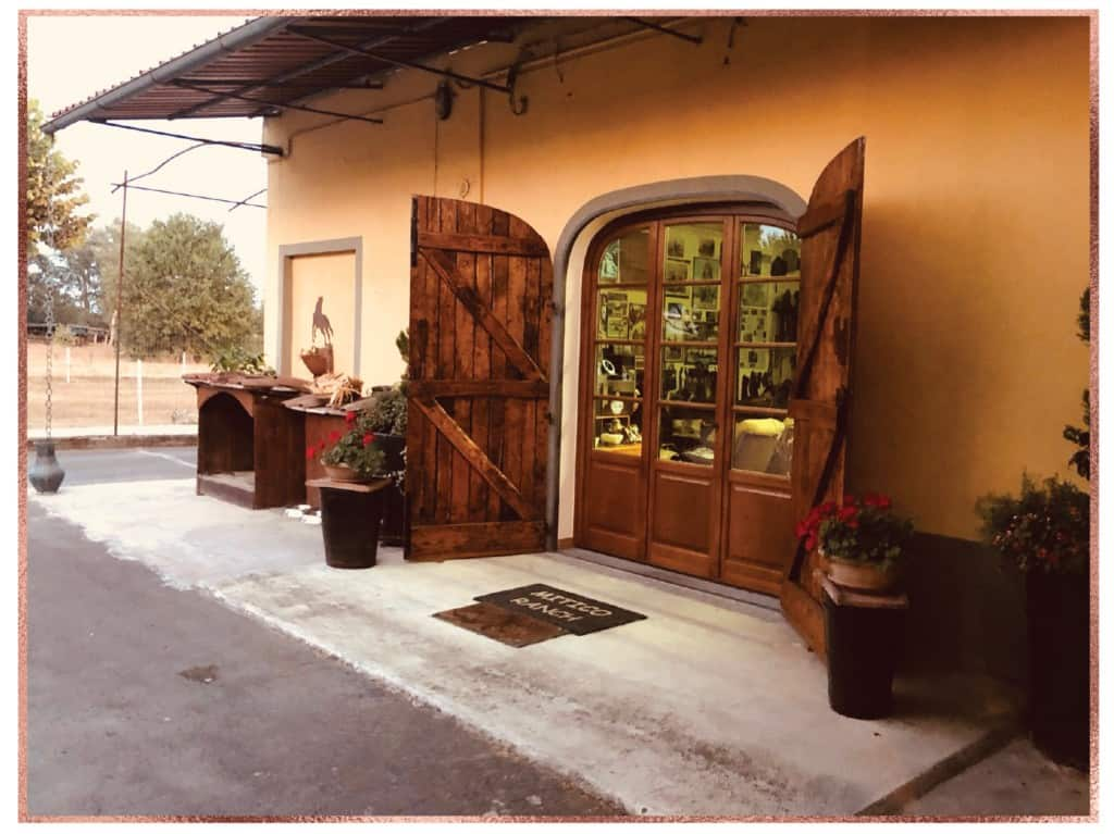 Piero's man cave in Lucca