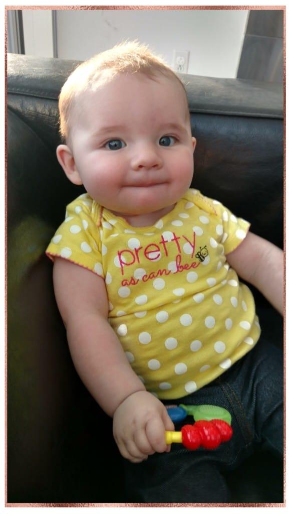 precious little baby girl