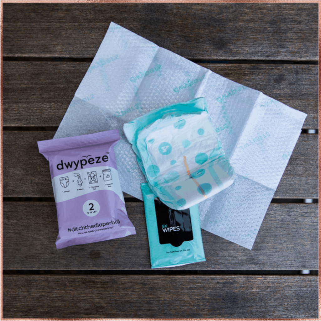 Improve mom life with Dwypeze, diapers, and wipes