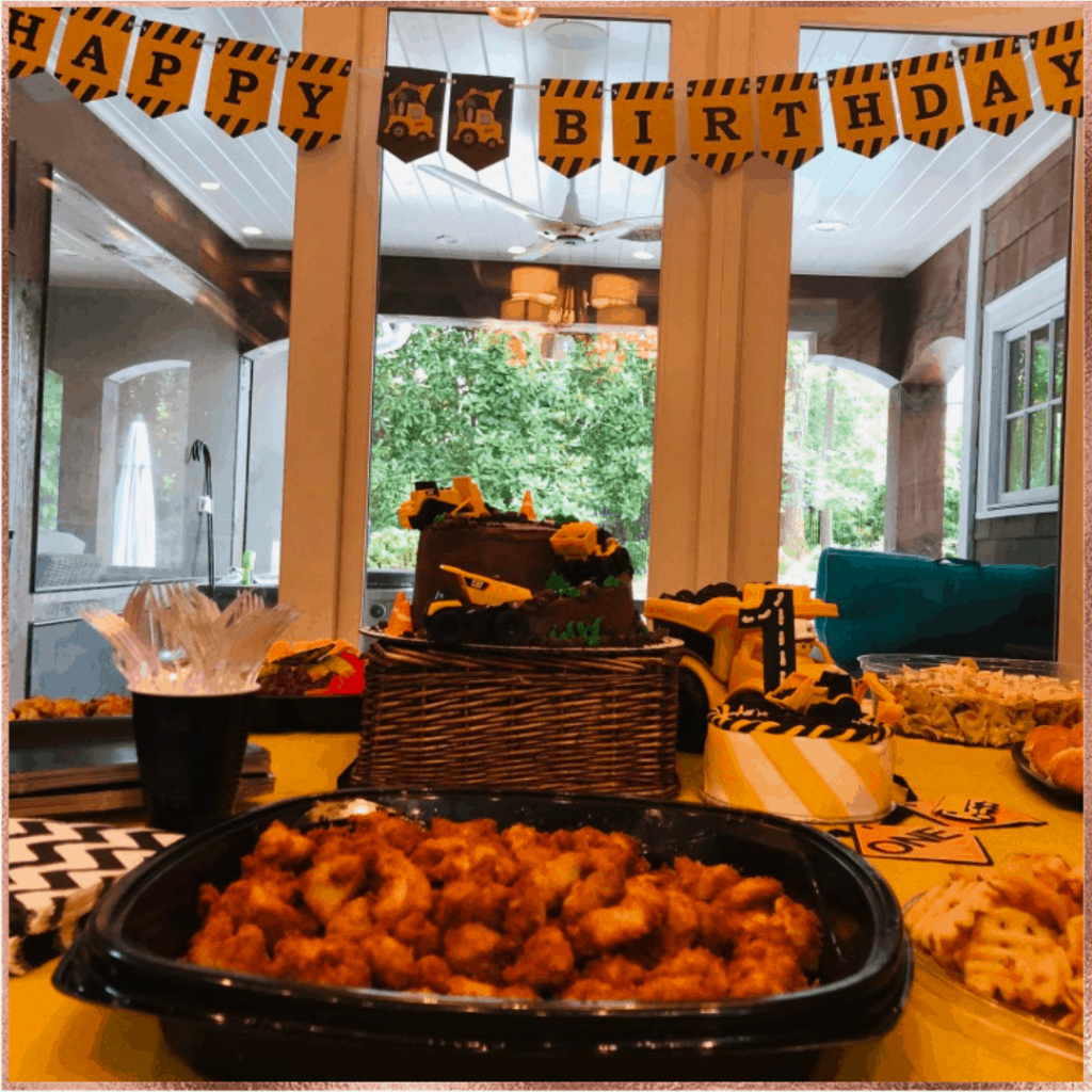 birthday party ideas including decorations and catering