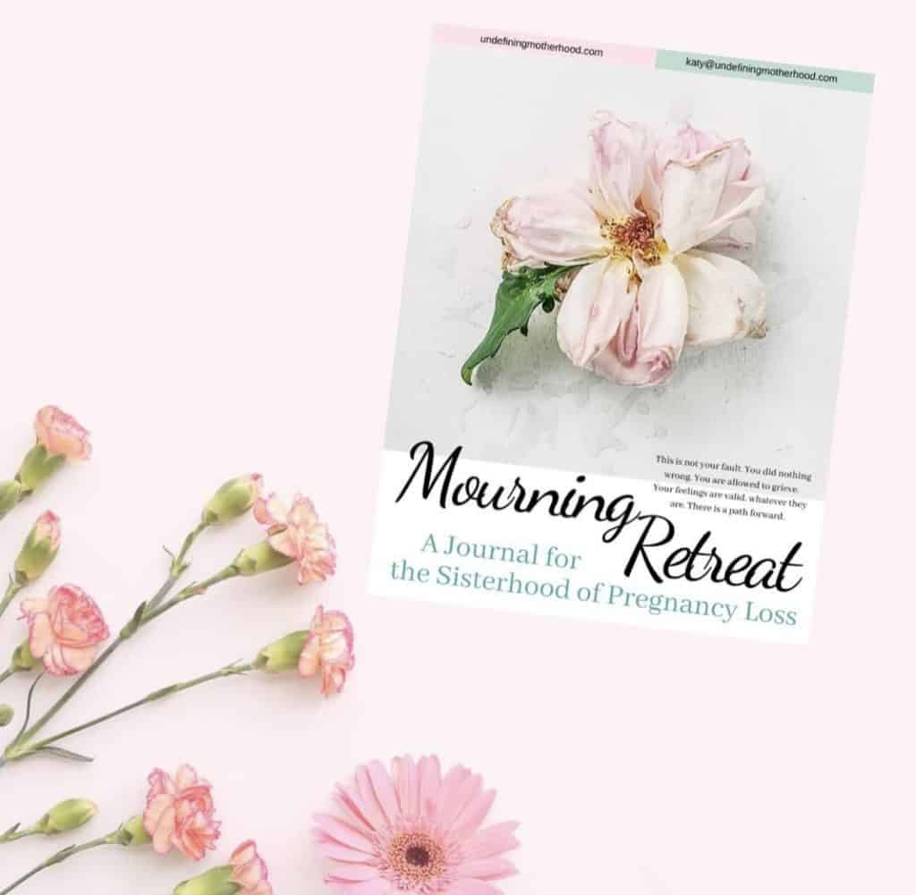 mourning-retreat-miscarriage-journal