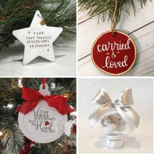 collage-of-4-miscarriage-christmas-ornaments