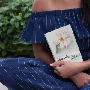 woman with arms wrapped around miscarriage gift called mourning retreat a journal for the sisterhood of pregnancy loss
