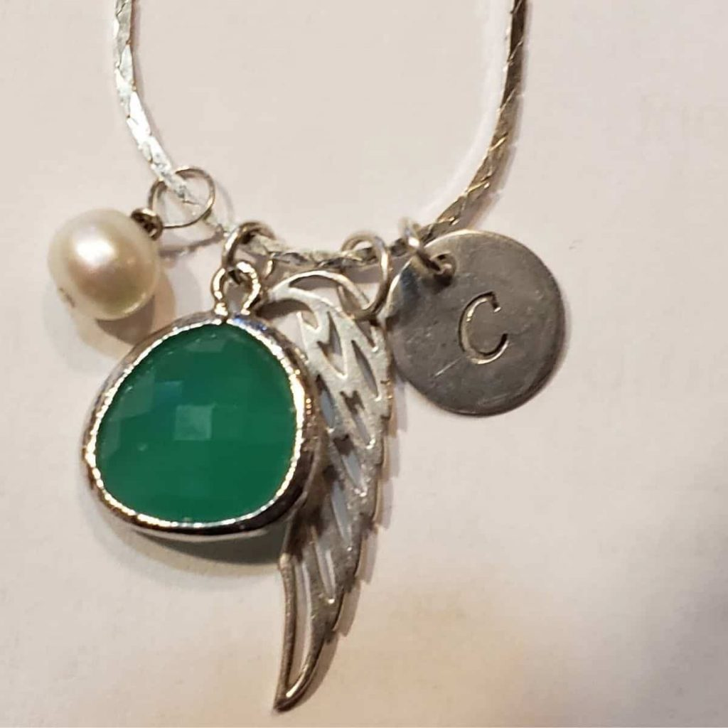necklace in remembrance of Collete
