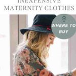Inexpensive Maternity Clothes