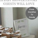 From Candles to Candy: 18 Baby Shower Favors Guests Will Love