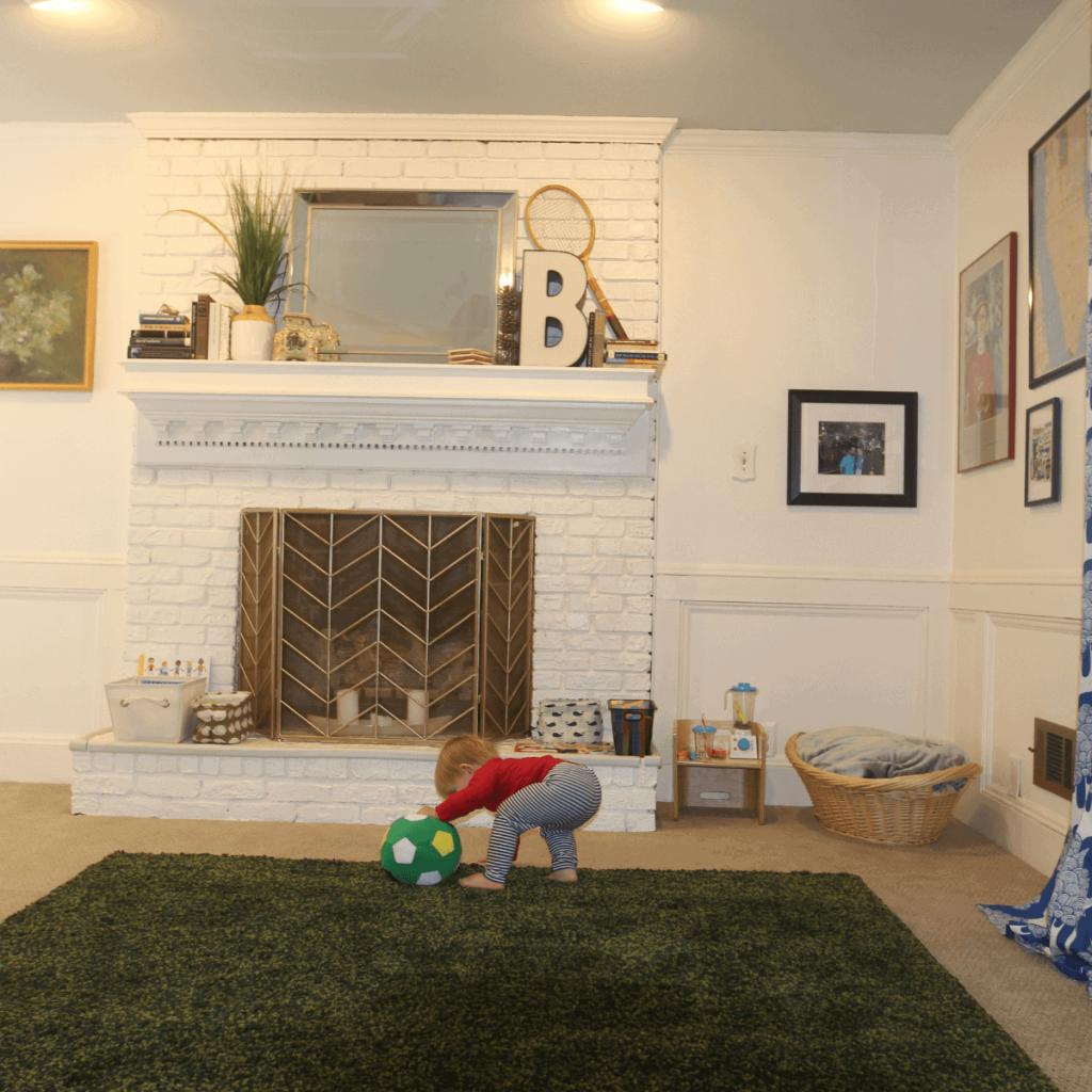 Montessori living room