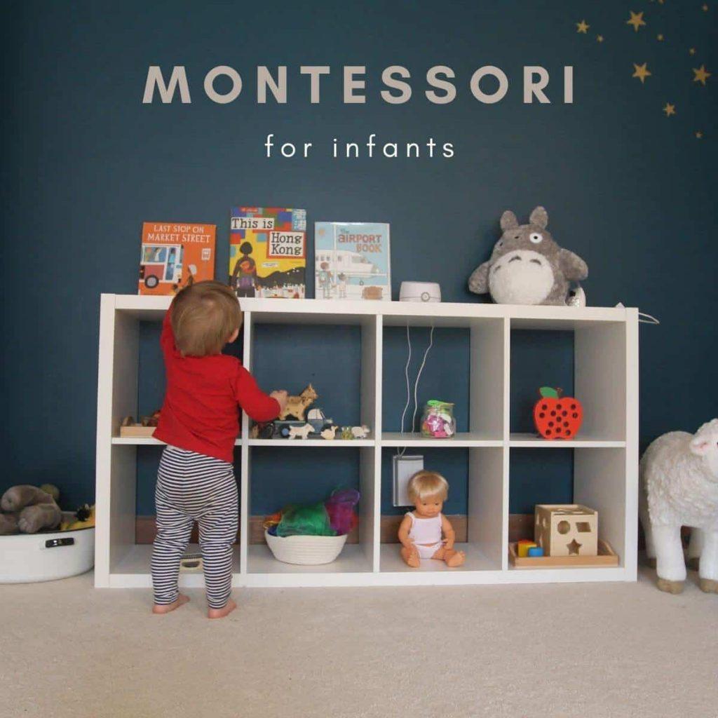 montessori for infants header