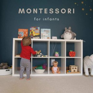 montessori for infants header