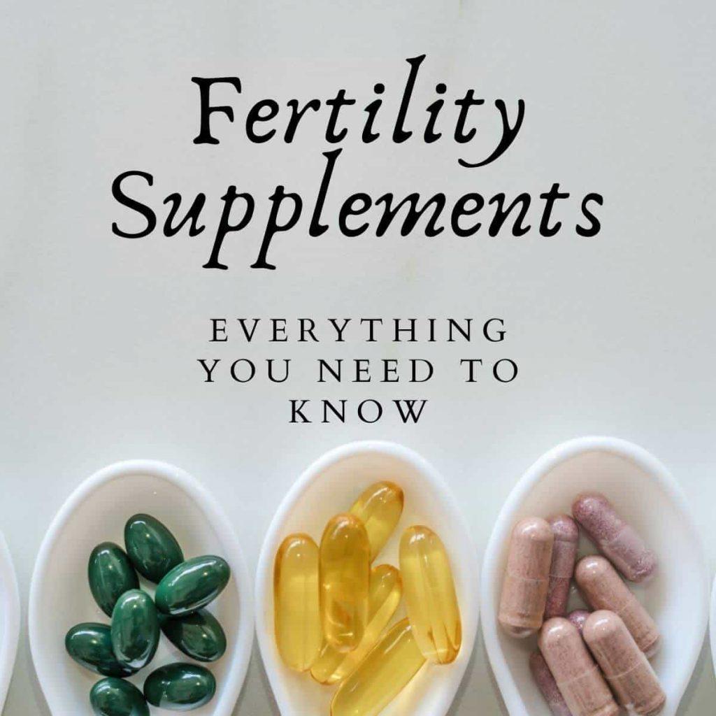 fertility supplements header