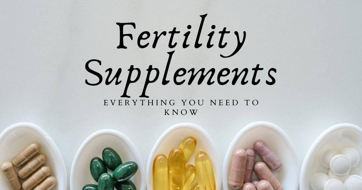 Fertility supplements social