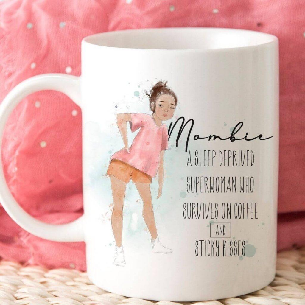 mombie funny mom mugs