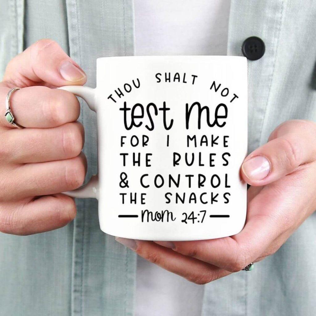 thou shalt not test me